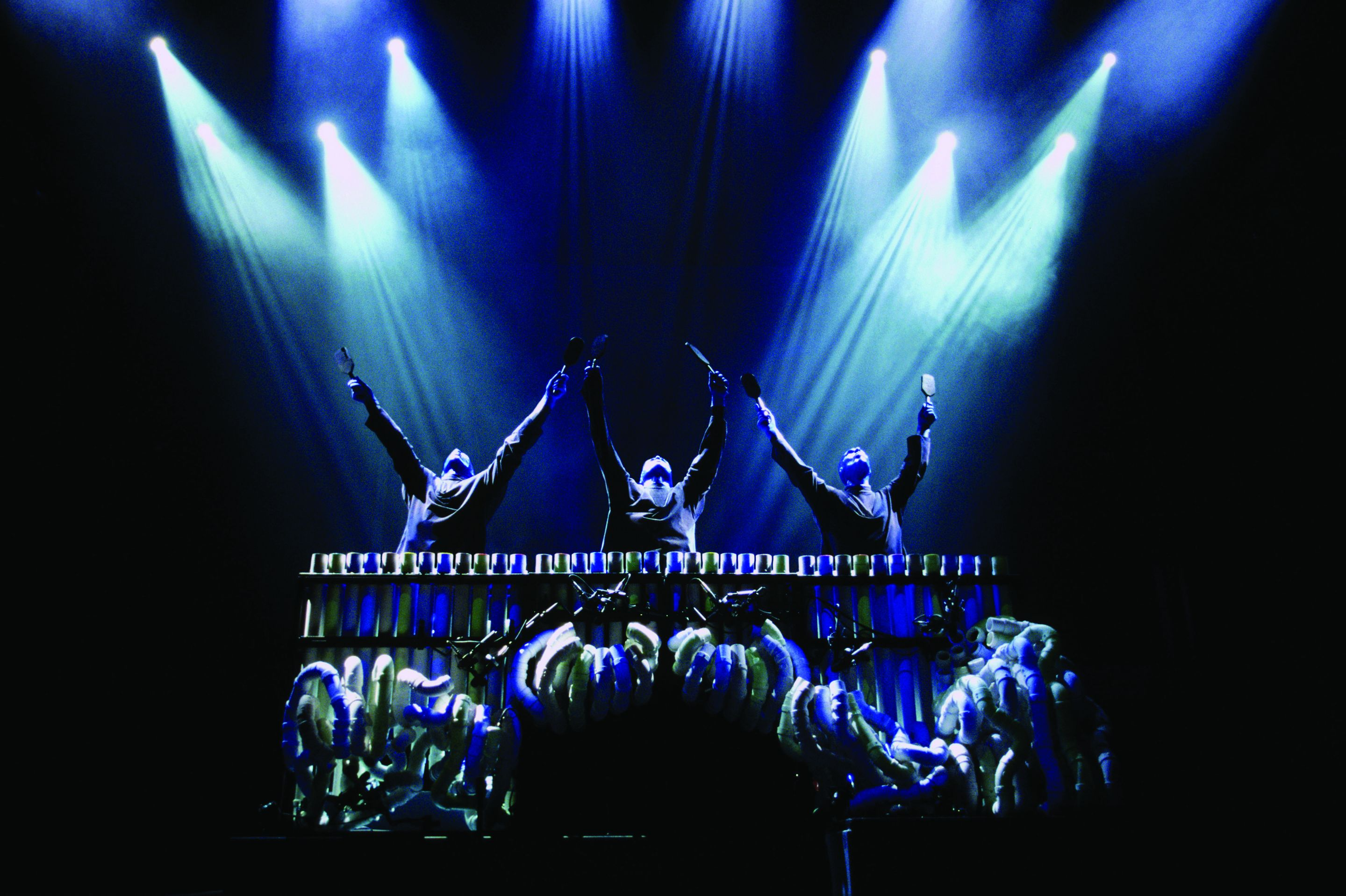 The current blue man group
